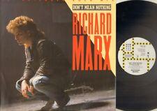 "RICHARD MARX Don'T Mean Nothing  12"" VINYL"