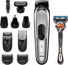 Braun Mgk7220 10 en 1 Recortadora barba Depilación corporal Cortapelos Batería