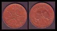 ★★ GHANA ● 1 PESEWA 1967 ● (ref80) ★★