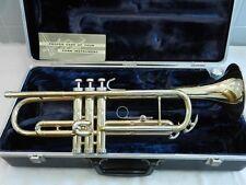 "Beautiful 1968 Conn Director USA Trumpet -""Shooting Stars"" Bell Engraving - Nice"