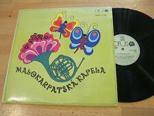 LP Malokarpatska Kapela Same Jeden Myslivecek  Vinyl Opus CSSR  9114 0555