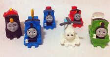 2017 Thomas the Tank Engine & Friends Mcdonalds Toys Complete 6 PCS NIP