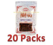 20 Packs (DHL Ship) - Lee Chin Li Eight Immortals Dryed Fruit 100g 李錦利八仙果 (20包)