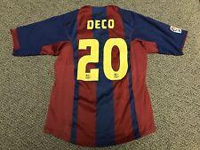 2004 2005 Barcelona Nike Jersey Deco 20 M Medium Home Kit Shirt Ronaldinho Rare
