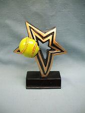 Softball infinity star full color resin award Nfr107