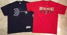 Boston Red Sox Baseball t-shirt LOT of 2 Mens size Large L