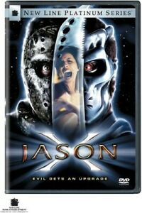 Jason X (DVD, 2002) - Free Shipping