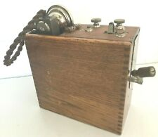1908 L.M. Ericsson Telephone STOCKHOLM Beeston Nottingham D. Mark 1 MILITARY