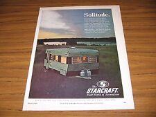 1969 Print Ad Starcraft Travel-Star Trailers Goshen,IN