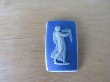Blue Dipped Wedgwood Jasperware 18th Century polished edge rectangular medallion