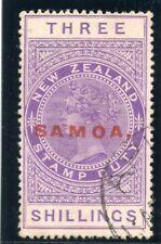 Samoa 1923 KGV 3s purple very fine used. SG 129. Sc 122.