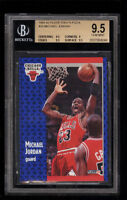 BGS 9.5 MICHAEL JORDAN 1991-92 Fleer Tony's Pizza #S-33 Bulls HOF POP2 GEM MINT