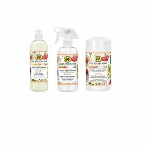 *Clean Home Cleaning Kit Posies Michel Design Works