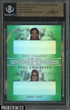 2017 Leaf Metal Pre-Production Proof Prismatic Green Steamboat w/ Hart BGS 1/1