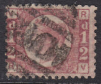 1870 1/2d ROSE RED SG48/9 PLATE 15 NICE USED