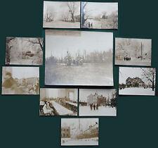 10 Rare Antique Russian German BUFA Photos Brest-Litovsk Treaty 1918