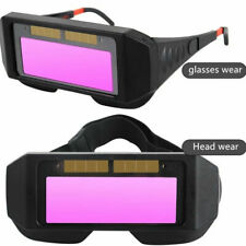 Solar Welding Glasses Auto Darkening Welding Helmet Eyes Goggle Welder Glasses