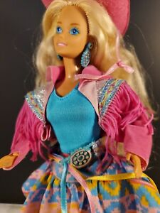 Vintage Pink Western Barbie Country  late 80's & Barbie
