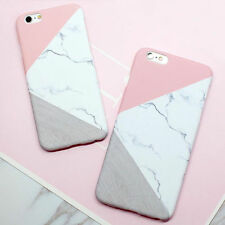 NEW Fashion Colourful Marble Stone Pattern Case Cover For iPhone 5/5S/6/6S