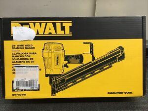 Dewalt DWF83WW 28 Degree Wire Weld Framing Nailer NEW/SEALED