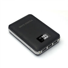 External 2 LED 50000mah 3 USB LCD Power Bank Backup Battery Charger for PHONES