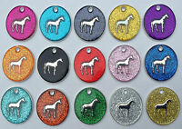 Equestrian Horse Tags, Horse Tack, Saddles, Rugs, Bridles with ENGRAVING OPTIONS