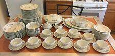 Vintage 86 pc Dinnerware Set & Tea Set GDA Limoges France