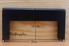 Black wooden purse frame 10 inch x 5 inch (purse making supplies) M5