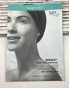 SiO Beauty Neck Lift Overnight Wrinkle Smoothing Reusable Patch / 15 Treatments