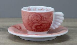 Thun Weihnachten coffee al volo 2002 rot Espressotasse Tasse mit Unterteller