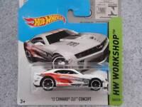 Hot Wheels 2014 #246/250 2012 CAMARO Zl1 CONCEPT HW WORKSHOP