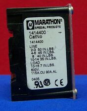 MARATHON SPECIAL PRODUCTS 1414400 PANEL MOUNT BARRIER TERMINAL BLOCK 115A