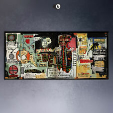 "Jean Michel Basquiat ""Notary"" HD print on canvas large wall picture"
