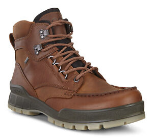 Ecco Men's Track 25 High GTX Casual Hiking Leather Boots - Bison