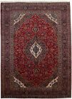 Hand-Knotted Vintage Traditional 9'7X13'5 Floral Design Oriental Rug Wool Carpet