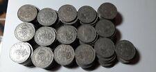 More details for 100 x florins two shillings 2/- coins king george vi 1948 bulk bargain.