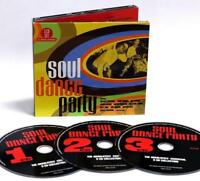 SOUL DANCE PARTY Various Artists NEW & SEALED 3X CD CLASSIC SOUL R&B NORTHERN