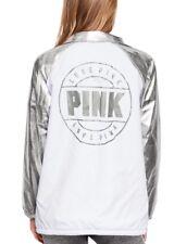 Victoria's Secret Pink Snap Front Coach Jacket (size XS)   RRP £73.80