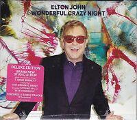 Elton John Wonderful Crazy Night {Deluxe Limited Edition CD} with 2 Bonus Tracks