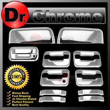 09-14 Ford F150 Chrome HALF Mirror+4 Door Handle+no keypad no KH+Tailgate Cover