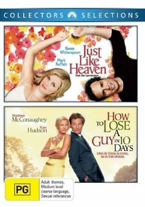 How To Lose A Guy In Ten Days + Just Like Heaven DVD - SAME / NEXT DAY POST