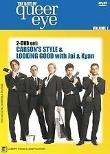 The Best Of Queer Eye , Vol 1 (DVD, 2-Disc) R-ALL, NEW, FREE POST IN AUSTRALIA