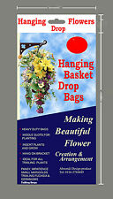 9 Fiore Appeso piante, PANSIES, Erbe Hanging Fucsia gerani piante da appendere