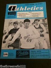 ATHLETICS WEEKLY - PAUL NIHILL - JAN 11 1969