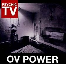 FREE US SHIP. on ANY 3+ CDs! ~Used,Very Good CD Psychic TV: Ov Power Import
