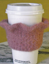 Crochet Pattern ~ FELTED CUP COZY ~ Instructions
