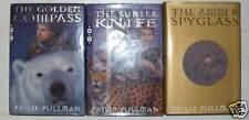Philip Pullman Dark Materials trilogy US 1st/1st copies