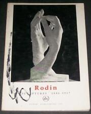 Rodin 1886-1917 Petite Encyclopédie de L'Art Orpheus Fall of Icarus Nijinsky