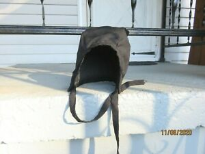 All Original Amish Child Hat /Bonnet Black baby/ toddler