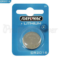 1 x Rayovac CR2016 battery Lithium 3V Coin Cell BR2016 KRC2016 DL2016 EXP:2023